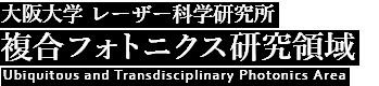 大阪大学 レーザー科学研究所 複合フォトニクス研究領域